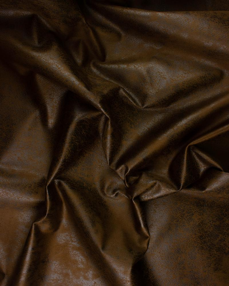 Aged faux leather Brown - Tissushop