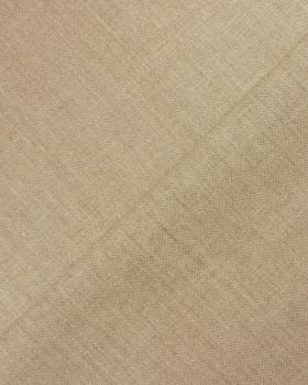 Linen grey fabric - Calandered - 160 cm - Natural - Tissushop