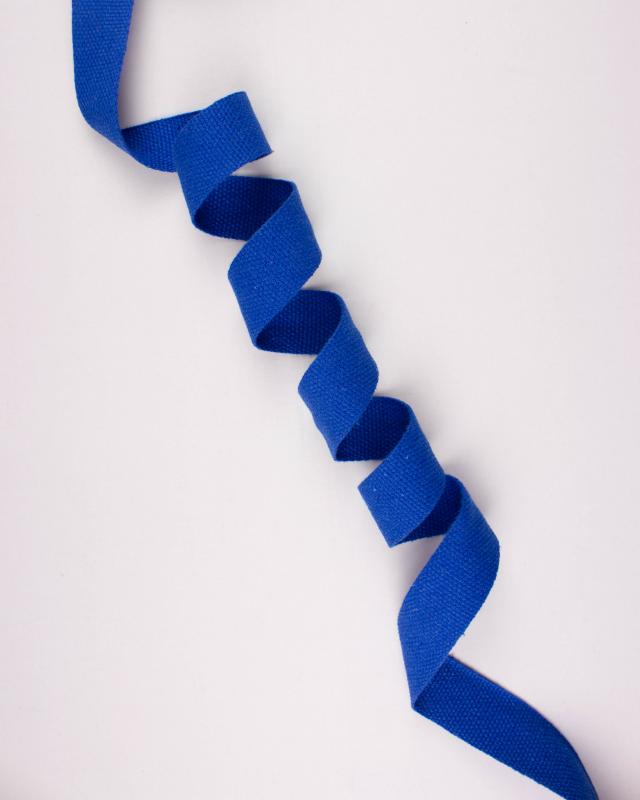 Cotton Webbing 38 mm Blue - Tissushop