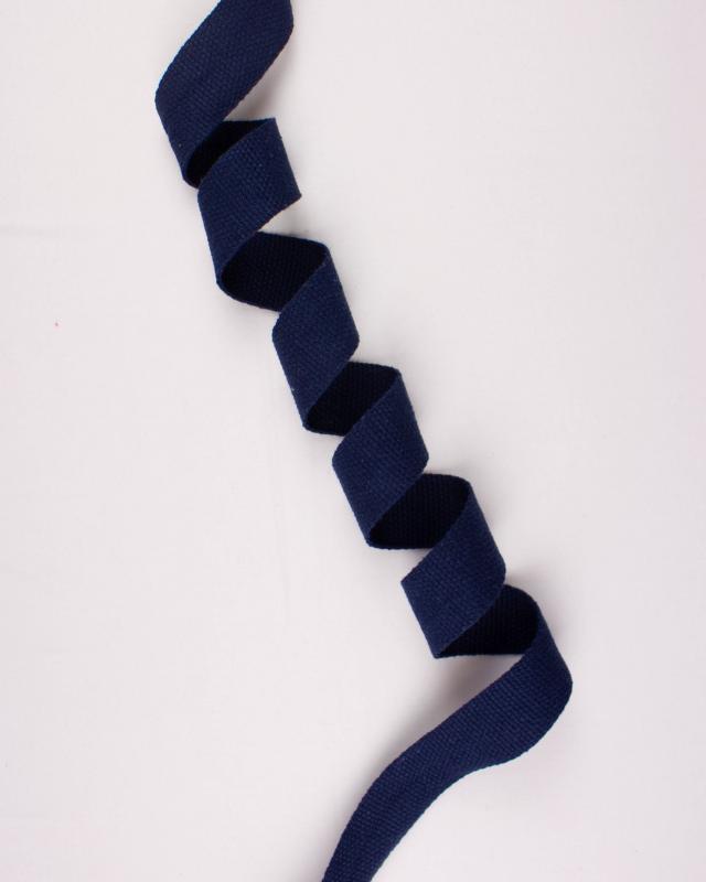Cotton Webbing 38 mm Navy Blue - Tissushop