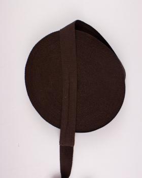 Cotton Webbing 38 mm Brown - Tissushop