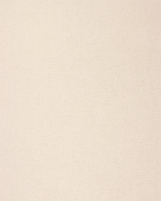 Coton fabric grain riz large wide Off White - Tissushop