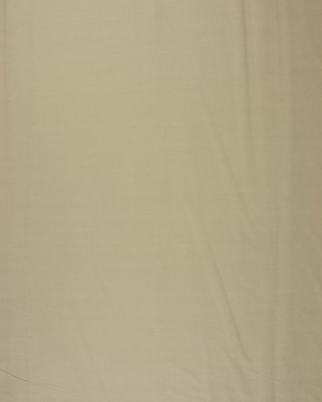 Dyed Cotton Popelin Beige - Tissushop