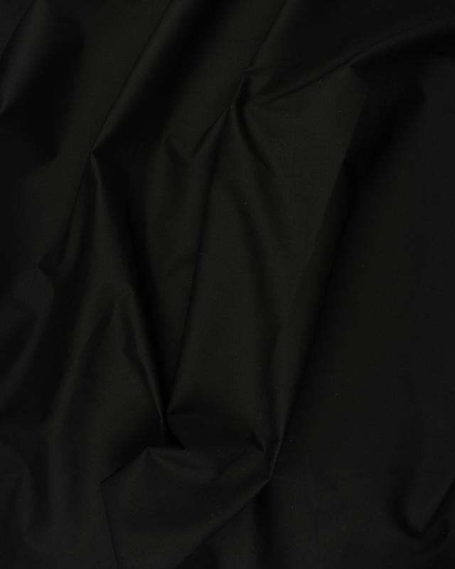 Dyed Cotton Popelin Black - Tissushop