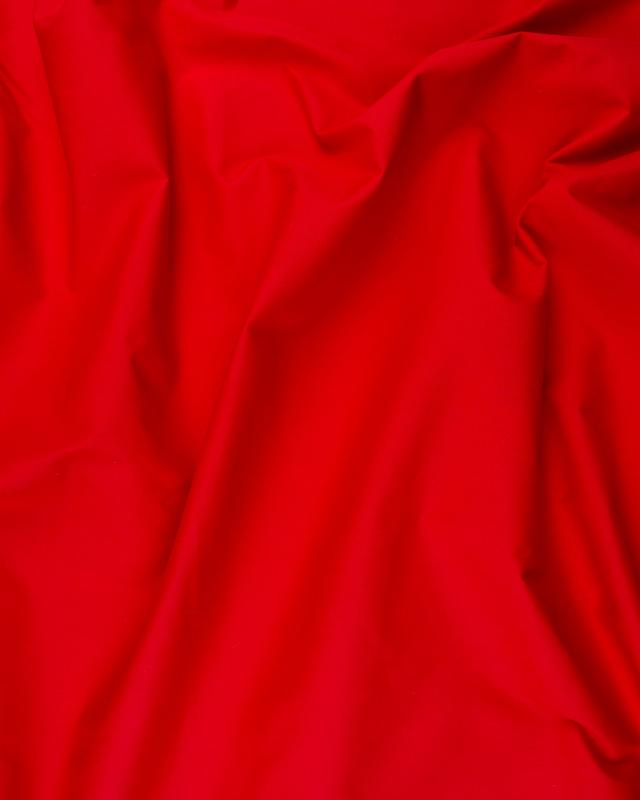 Dyed Cotton Popelin Red - Tissushop