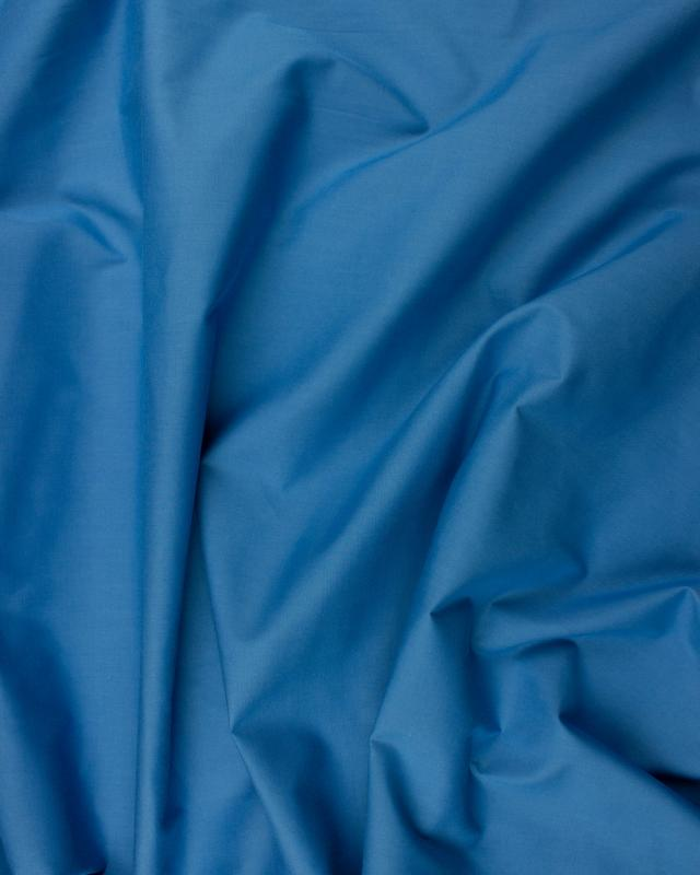 Dyed polycotton Popelin Blue - Tissushop