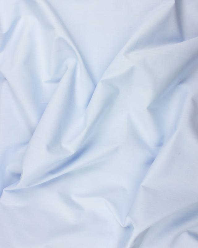 Dyed polycotton Popelin Light Blue - Tissushop