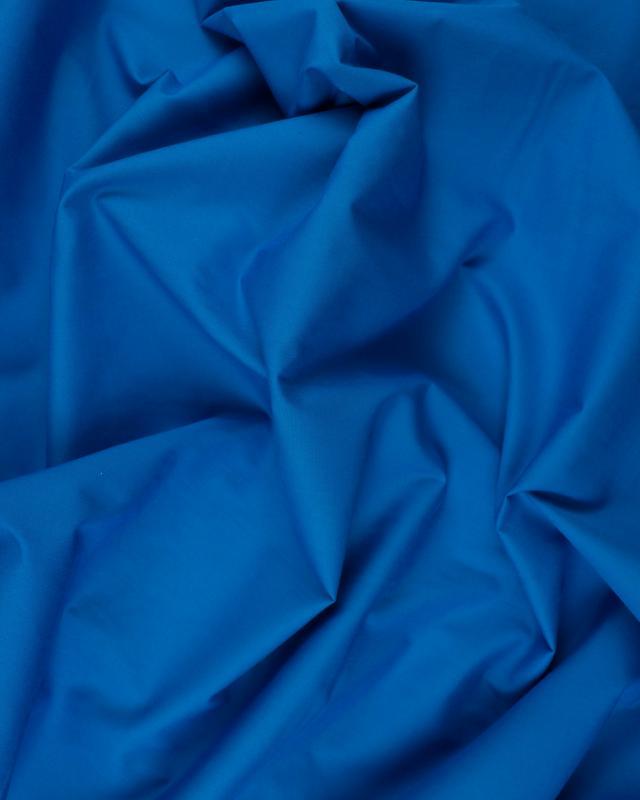 Popeline polycoton Uni Bleu Turquoise - Tissushop