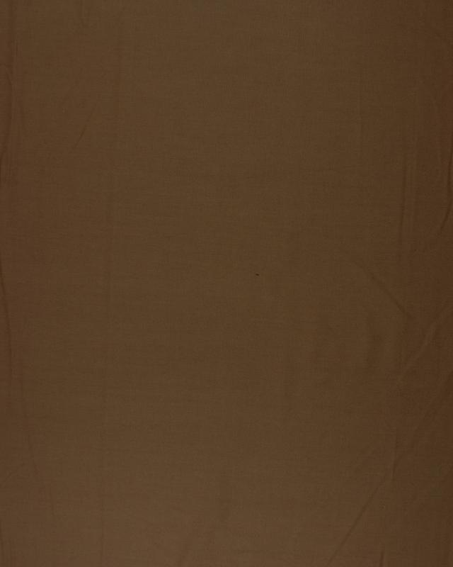 Dyed polycotton Popelin Chocolate - Tissushop