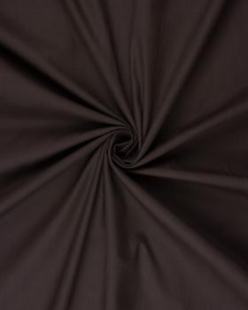 Dyed polycotton Popelin Dark Brown - Tissushop