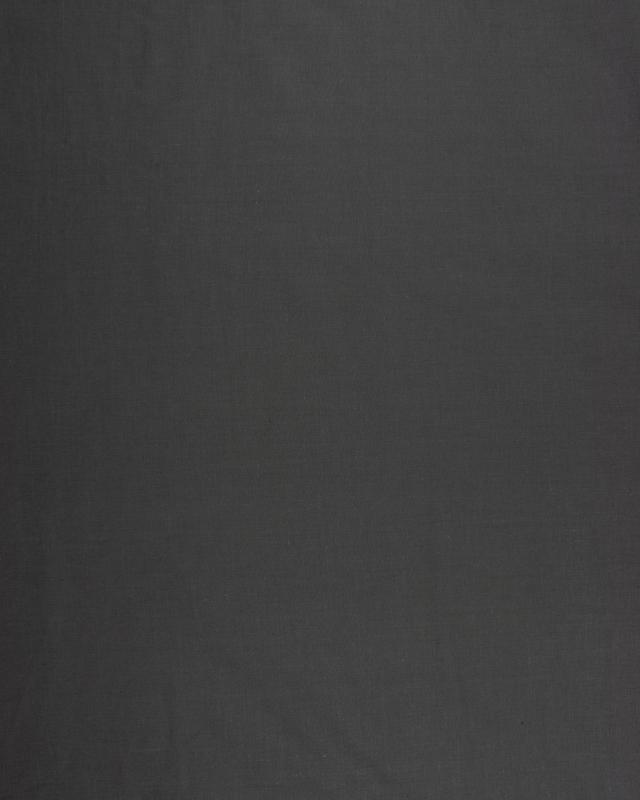 Dyed Cotton Popelin Dark Brown - Tissushop