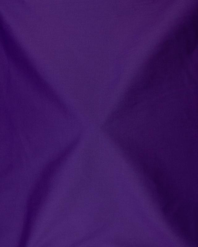 Dyed Cotton Popelin Purple - Tissushop