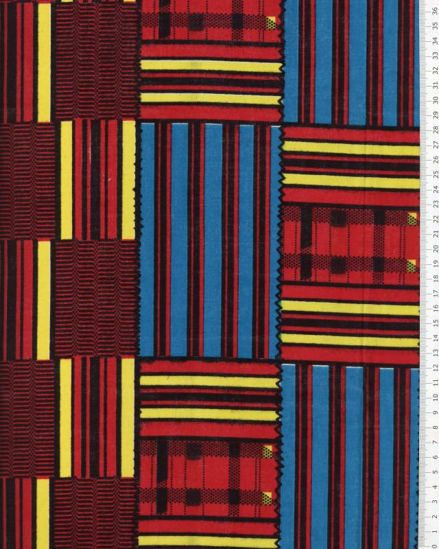 Véritable WAX - Tissu Africain Borama - Tissushop