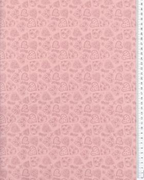 Cotton Popeline - Sofia Pink - Tissushop