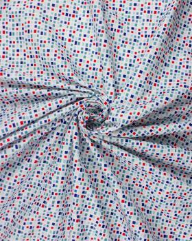 Popeline de Coton - Basen Bleu - Tissushop