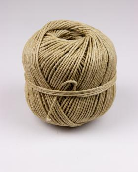 Stinging twine 10/3 linen - diam 2,3 mm - 100 meter ball - Natural - Tissushop
