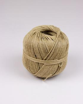 Stinging twine 15/3 polished linen - diam 1,5 mm - 100 meter ball Natural - Tissushop