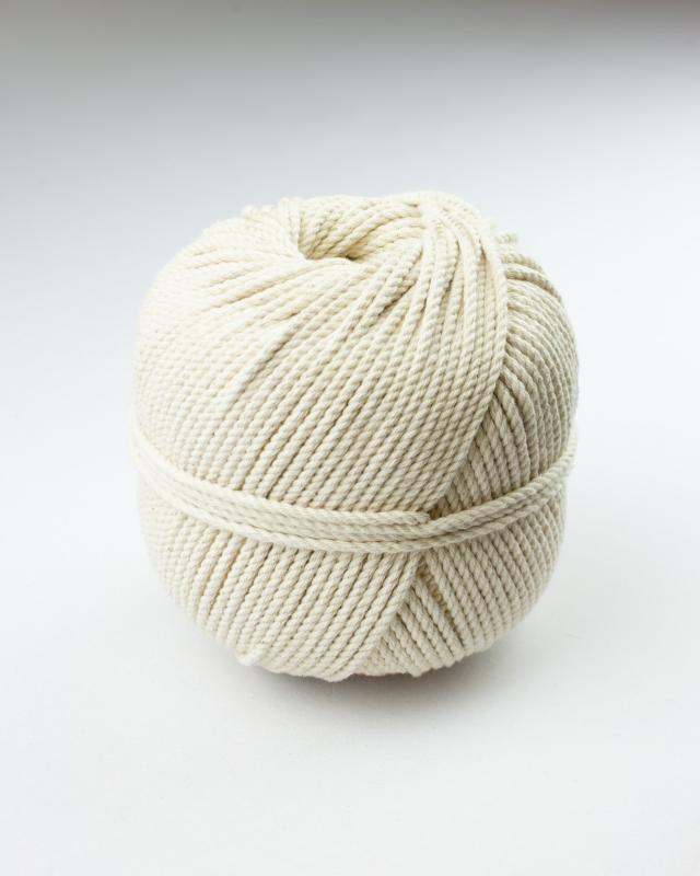 Cordeau de coton macramé Décrué - Tissushop