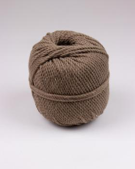 Macramé cotton rope Taupe - Tissushop