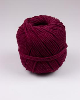 Macramé cotton rope Bordeaux - Tissushop