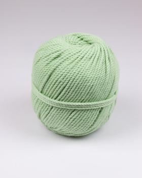 Cordeau de coton macramé Vert Amande - Tissushop