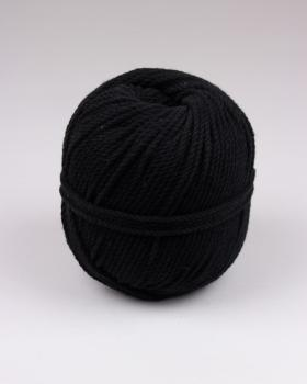 Macramé cotton rope Black - Tissushop