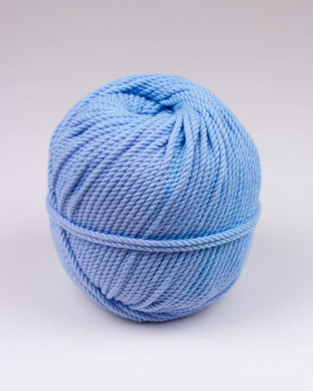 Cordeau de coton macramé Bleu Ciel - Tissushop