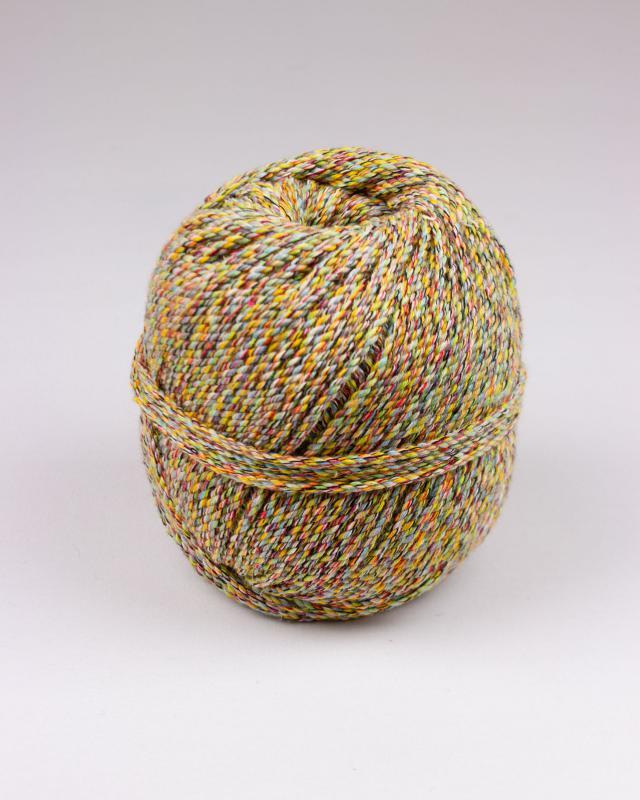 Cordeau de coton macramé Multicolore - Tissushop