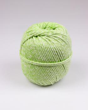 Macramé cotton rope Spring Green - Tissushop