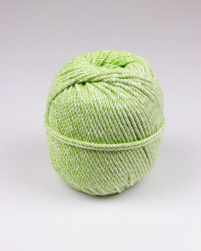 Cordeau de coton macramé Vert Spring - Tissushop