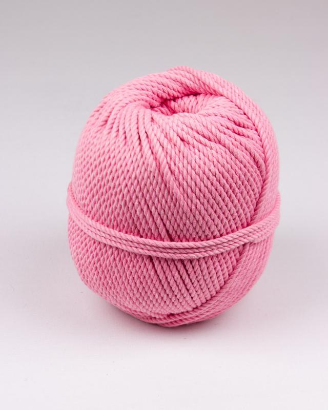Cordeau de coton macramé Rose - Tissushop