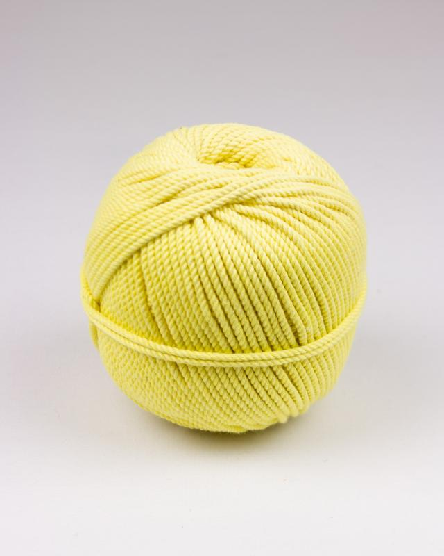 Macramé cotton rope Yellow - Tissushop