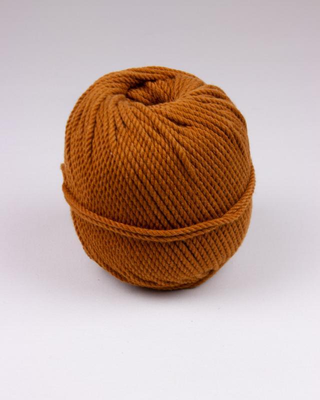 Cordeau de coton macramé Moka - Tissushop