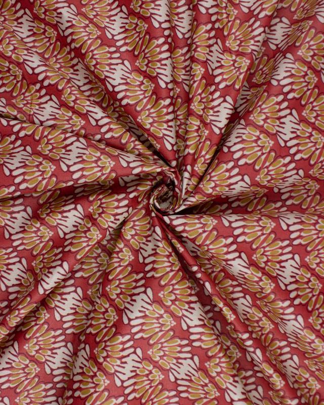 Coated cotton Svara Pimento - Tissushop