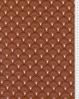 Popeline de Coton - Ginza Piment - Tissushop