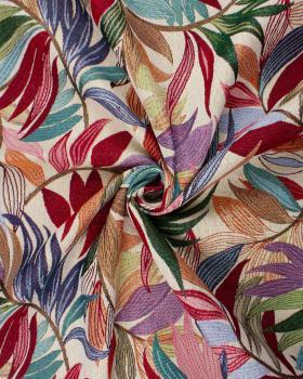 Jacquard home decor Fabric large width - Foliage - Tissushop