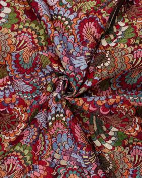 Jacquard home decor Fabric large width - peacock - Tissushop