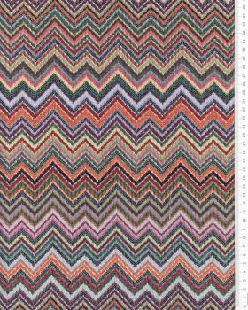Jacquard home decor Fabric large width - Zig Zog - Tissushop