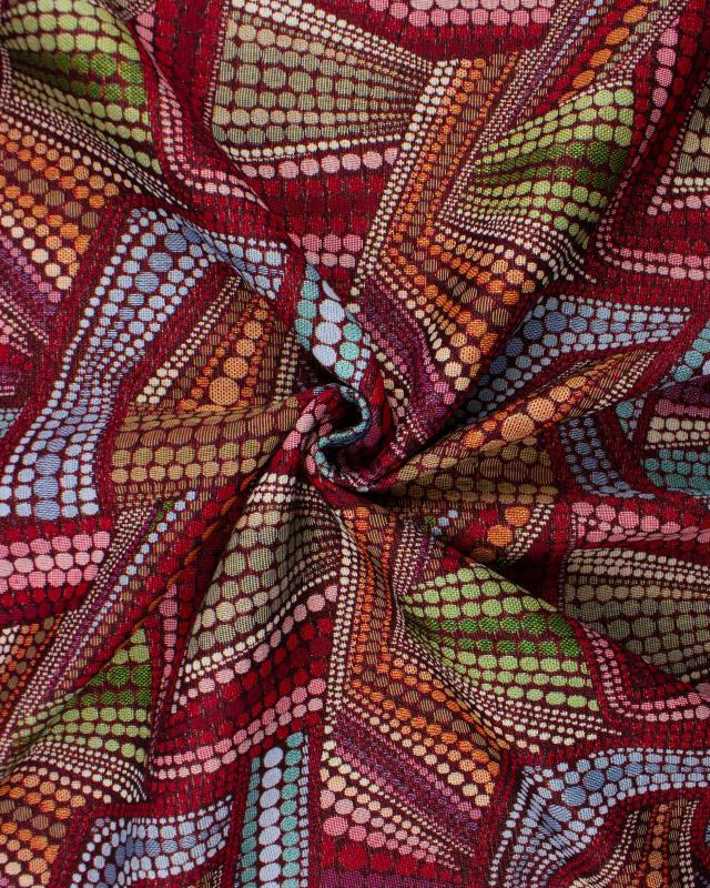 Jacquard home decor fabric large width - Mosaic - Tissushop