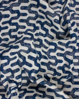 Jacquard home decor Fabric large width - Victor Blue - Tissushop