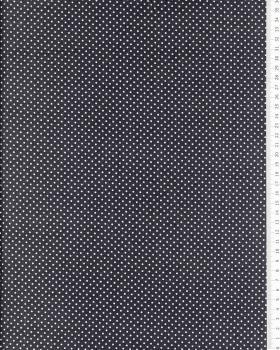 Cotton Popelin mini dot on a background Dark Grey - Tissushop