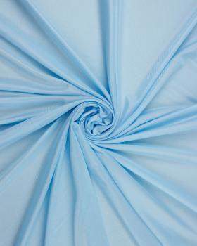 Satin maille charmeuse Bleu Ciel - Tissushop