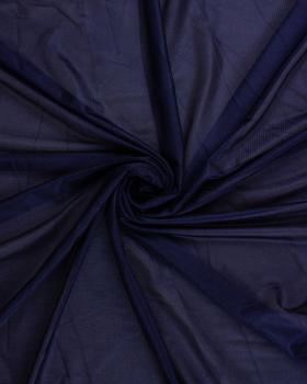 Satin maille charmeuse Bleu Marine - Tissushop