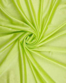 Satin maille charmeuse Vert Spring - Tissushop